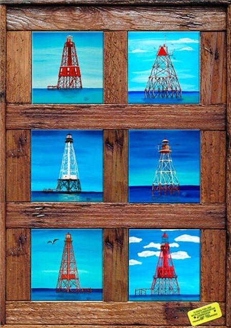 """Florida Keys Lighthouses"""
