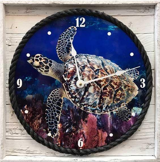 """Lobster Trap """"Framed"""" Clock"""