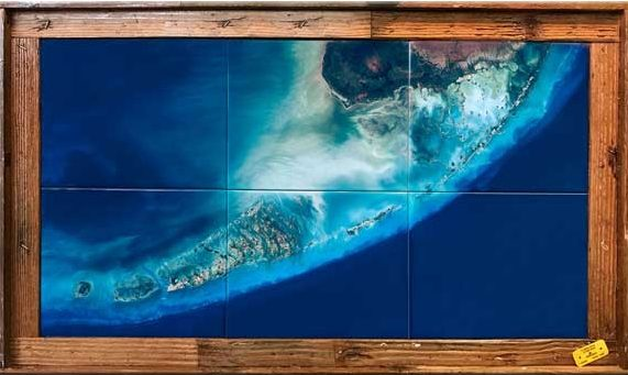 Florida Keys Satellite View