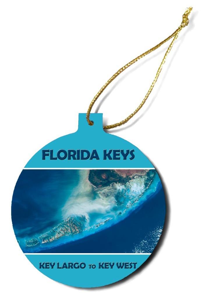 """Florida Keys Satellite View"""