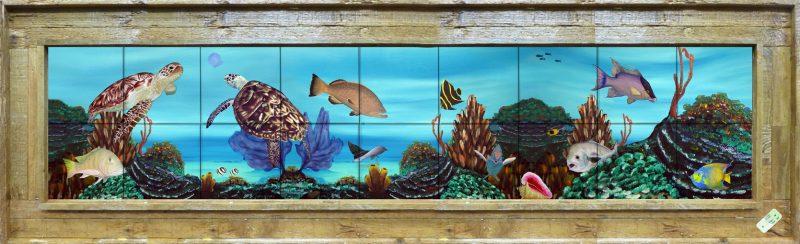 Reef Roamers Tile Mural