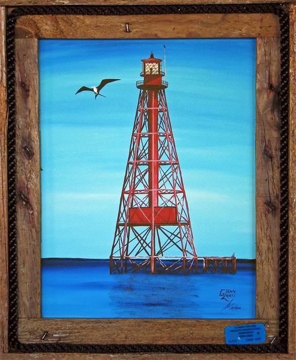 """""""Sombrero Reef Lighthouse"""""""