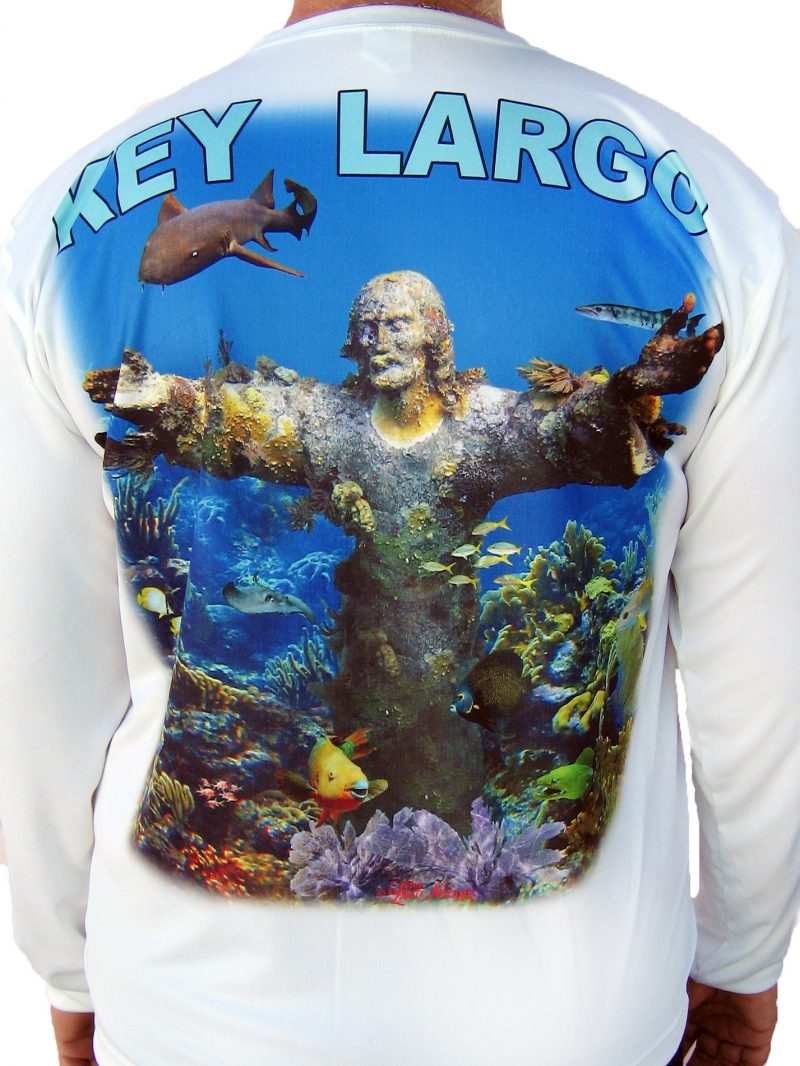 Christ of the Abyss Long Sleeve Shirt