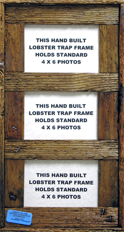 Multi Opening Lobster Trap Frames